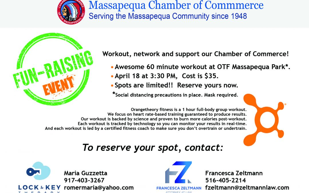 Workout, Network, and Support the Chamber – Special Fundraising Event
