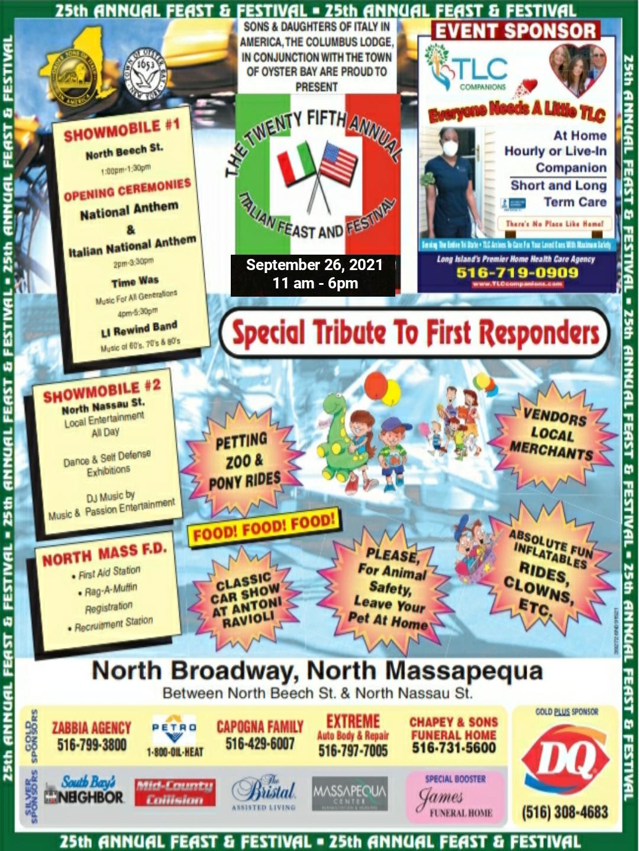 Italian Feast & Festival @ North Broadway