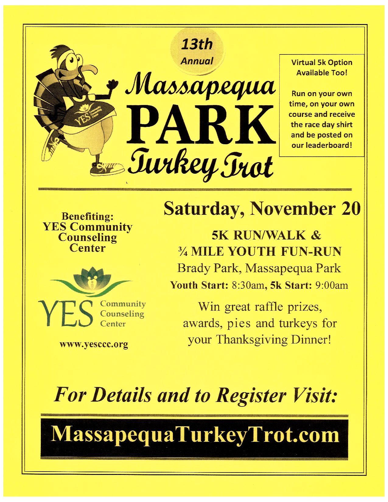 Massapequa Park Turkey Trot @ Brady Park